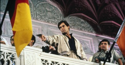 Timothy Dalton made his first appearance as James Bond in The Living Daylights