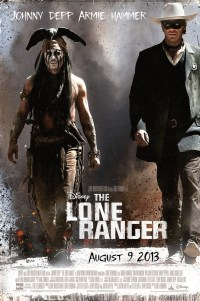 Poster for 2013 Western film The Lone Ranger