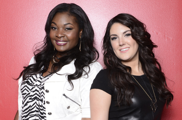 Candice Glover and Kree Harrision American Idol Finalists