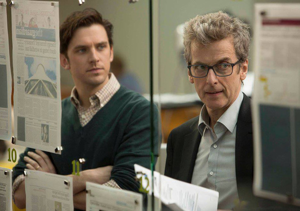 Dan Stevens and Peter Capaldi