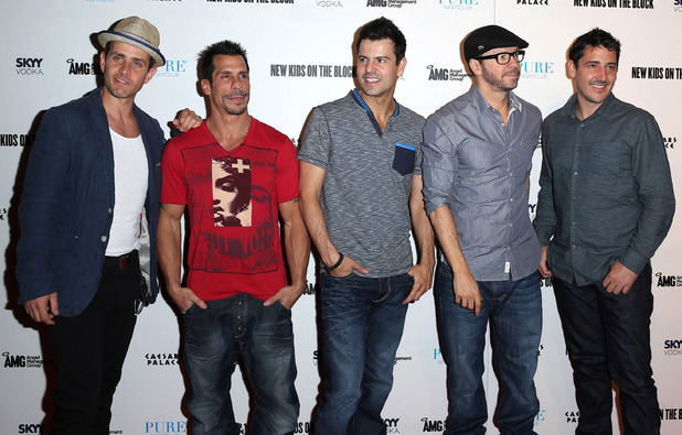 New Kids On The Block host an evening at Pure nightclub 2013