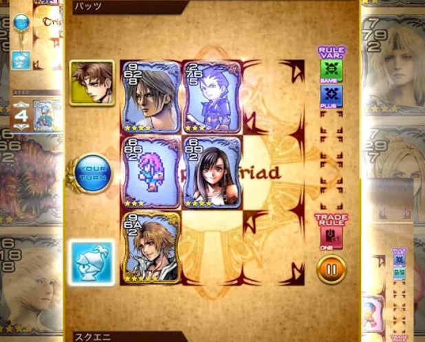 FFVIIIs Triple Triad Is Now Available As Mobile Game Triple Triad