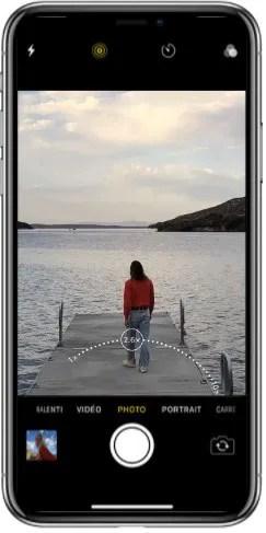Art de photographier Iphone X