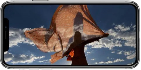 stabilisation image iPhone X