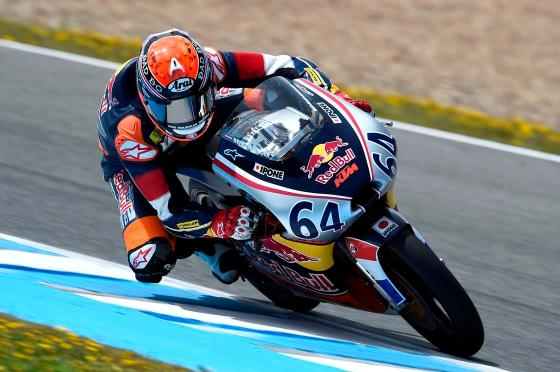 Bendsneyder fastest on half the laps at Jerez