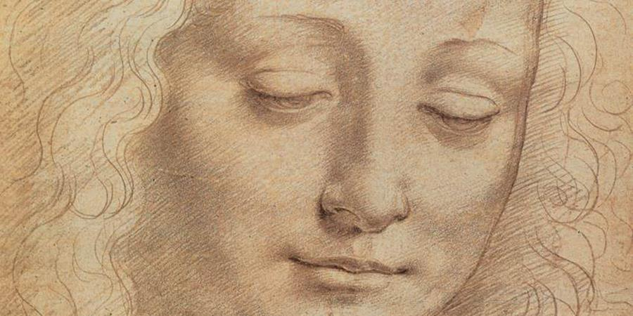Image credit: Female Head (detail), Leonardo da Vinci, second half of 15th century, Uffizi Gallery, Florence, Italy.