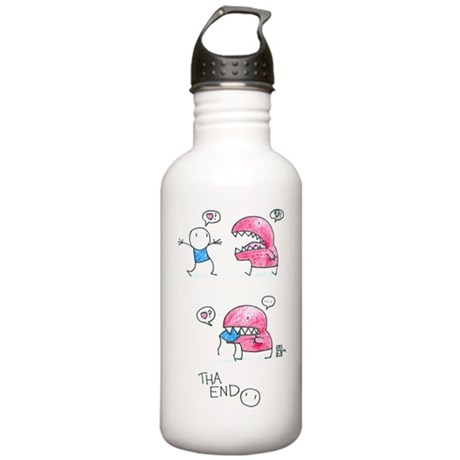 Love Chomped Water Bottle