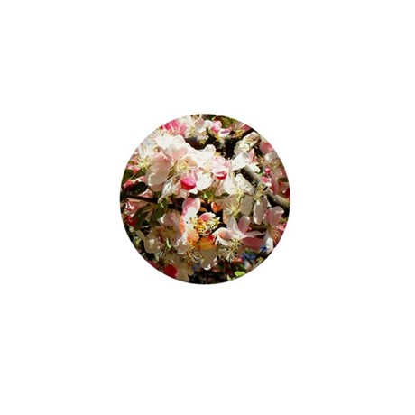 What spring does to cherry trees Mini Button