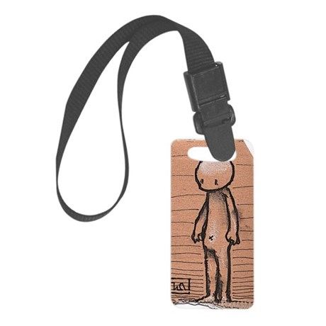 Standing guy Small Luggage Tag