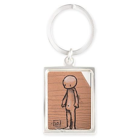 Standing guy Portrait Keychain