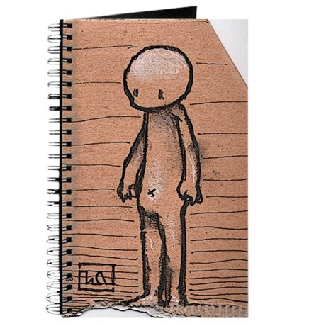 Standing guy Journal