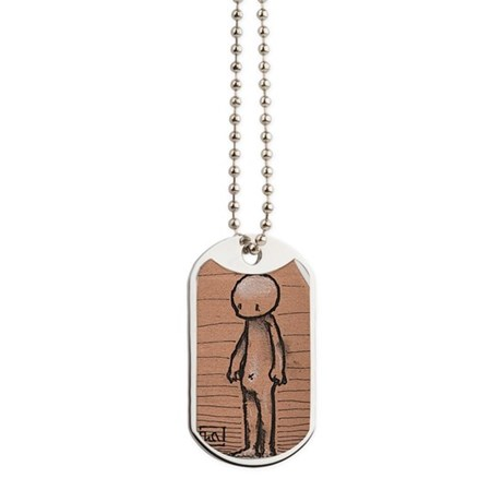 Standing guy Dog Tags
