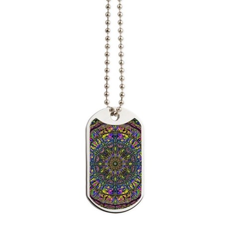 Mandala Dog Tags