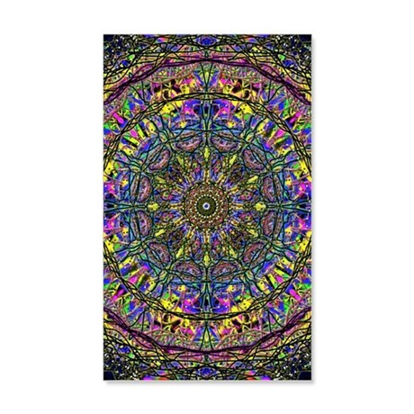 Mandala 20x12 Wall Decal