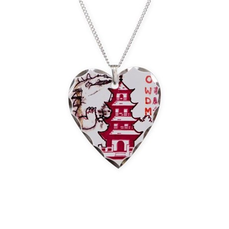 Go-zirra Necklace Heart Charm