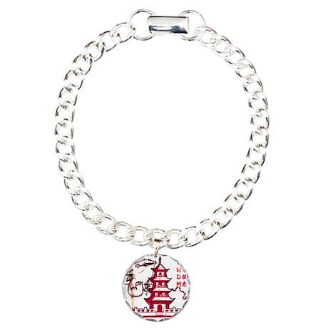 Go-zirra Charm Bracelet, One Charm