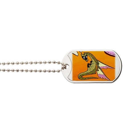 Dragon Lick Dog Tags