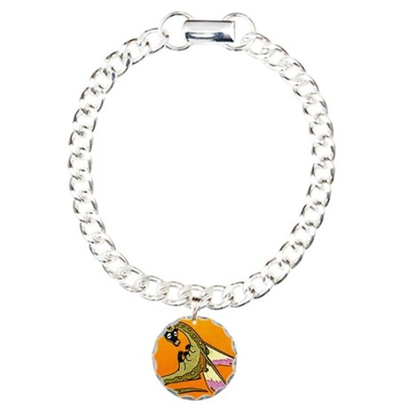 Dragon Lick Charm Bracelet, One Charm