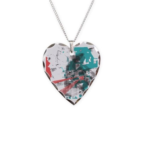 Crazy by Voln Necklace Heart Charm