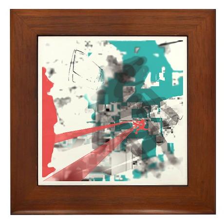 Crazy by Voln Framed Tile