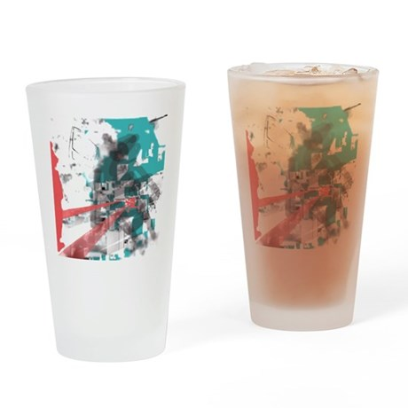 Crazy by Voln Drinking Glass