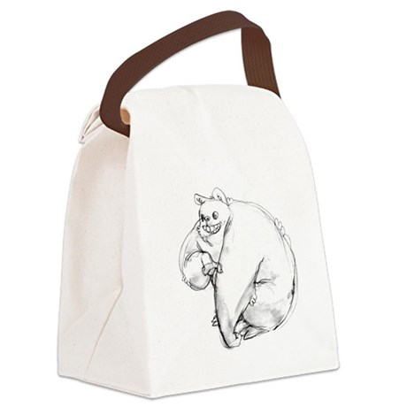 bIG mONSTER Canvas Lunch Bag
