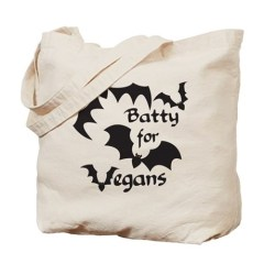 vegan halloween bag