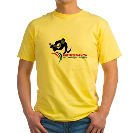 Rugby Redefined Yellow T-Shirt
