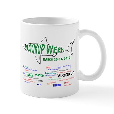 VLOOKUP Week Mug