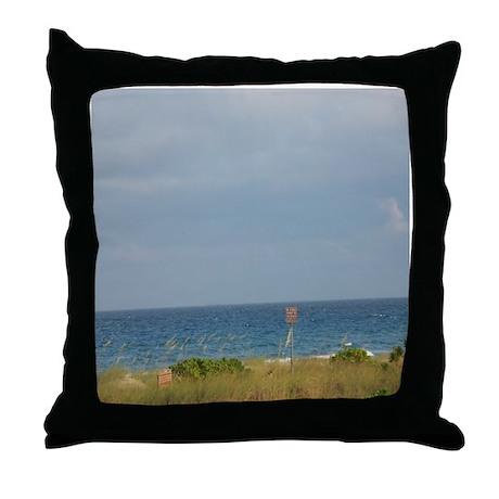 DELRAY BEACH Throw Pillow