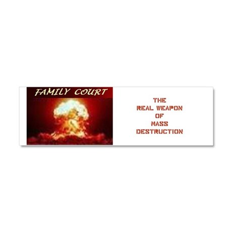 family Court Car Magnet 10 x 3
