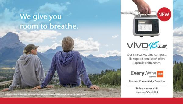 Vivo 45 LS We give you room to breathe.
