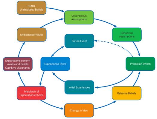 Figure 1. Cognitve Dissonance Cycle