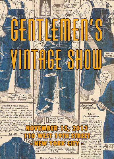 Gentlemen's Vintage Show and Sale