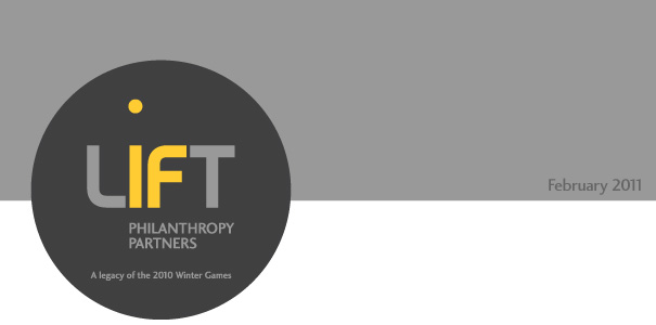 LIFT Philanthropy Partners banner