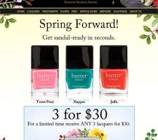 Incredible deal from butter LONDON!