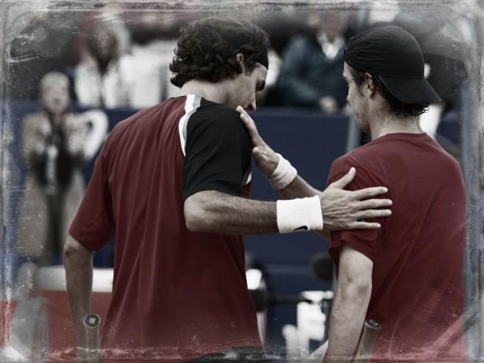 Federer et Gasquet, Monte-Carlo 2005