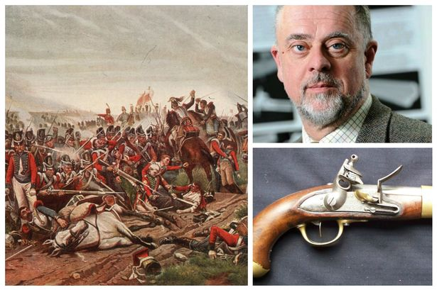 Universty of Huddersfield lecturer Dr Paul Wilcock has lent his expertise and weapons from his collection to a London exhibition