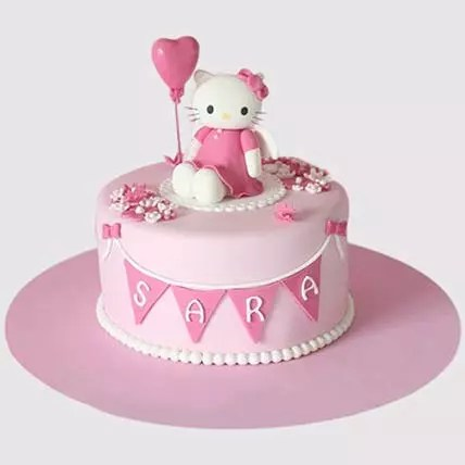 Online Hello Kitty Birthday Party Chocolate Cake Gift Delivery In Uae Ferns N Petals