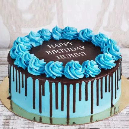 Online Half Kg Birthday Cake For Hubby Gift Delivery In Uae Ferns N Petals