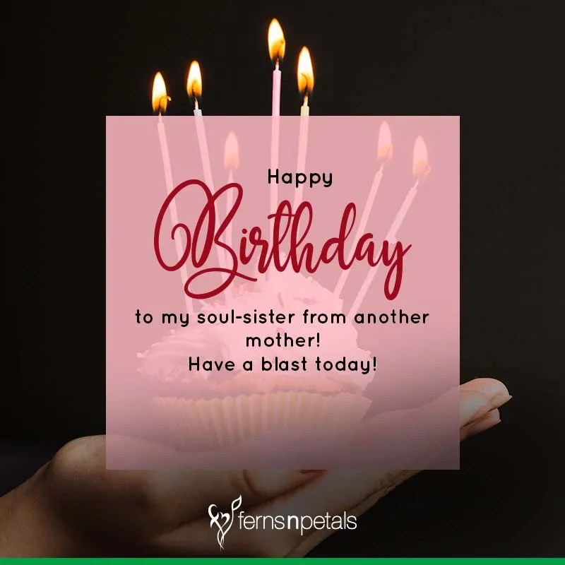 Best Happy Birthday Quotes Wishes For Cousin Sister Ferns N Petals