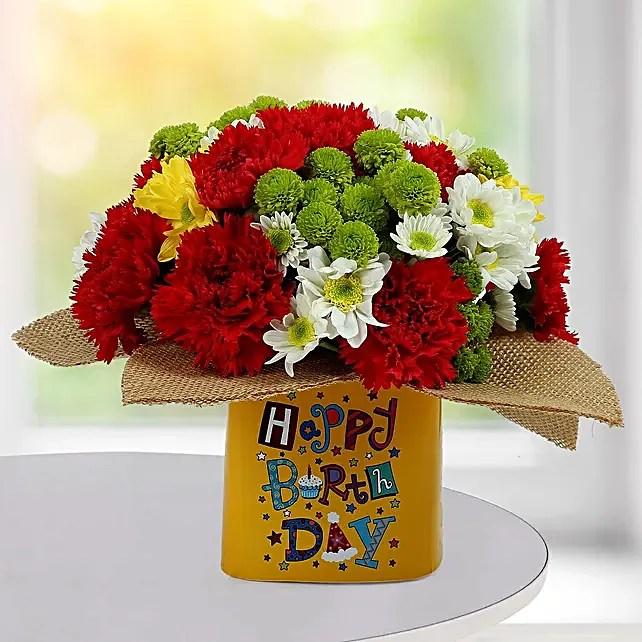 Buy Send Happy Birthday Flowers Online Ferns N Petals