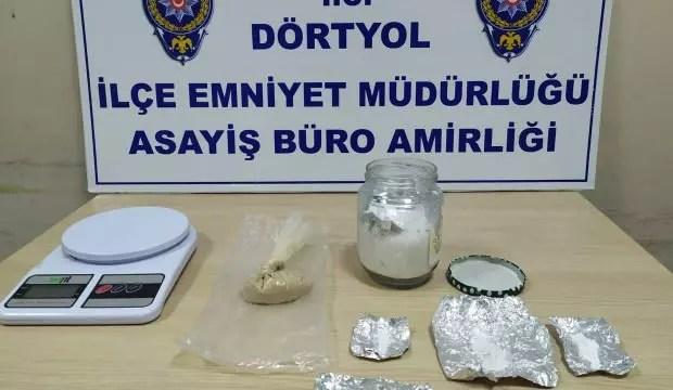 Hatay'da uyuşturucu operasyonu: 3 kişi gözaltı 1