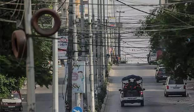 Gazze'de Kovid-19 sebebiyle sokağa çıkma yasağı uzatıldı 1