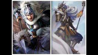 三國志vs三國無雙 - 人物造型對比 ( Romance of the Three Kingdoms vs Dynasty Warriors )