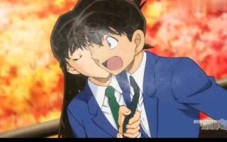 (名侦探柯南)小兰清水寺亲吻回应新一告白