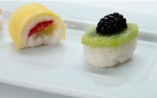 新鲜水果寿司快速教程