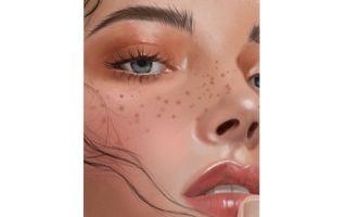 【板绘过程】这小姐姐也太高级了吧,画出高级色彩皮肤质感练习画法 新手向
