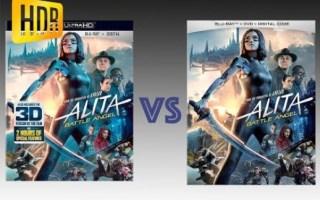 【画质对比】《阿丽塔:战斗天使》蓝光碟