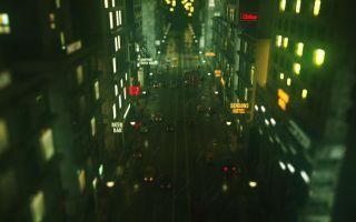 C4D创建迷人的夜景城市
